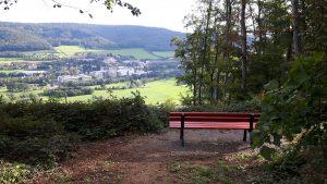 Schöne Aussicht über Bad Pyrmont und Lügde