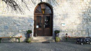 Eingang zum Turmcafe